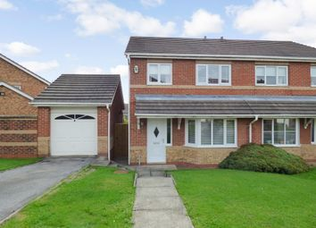 Thumbnail 3 bed semi-detached house for sale in Willerby Grove, Peterlee