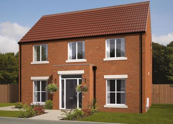 "Thumbnail 4 bed detached house for sale in ""The Danbury"" at Mansfield Road, Clowne, Chesterfield"