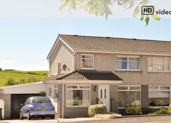 Thumbnail 3 bed semi-detached house for sale in Galbraith Drive, Milngavie, Glasgow