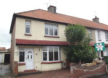 Thumbnail 3 bedroom semi-detached house to rent in Gladstone Road, Hoddesdon