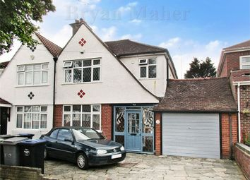 Thumbnail 3 bed semi-detached house for sale in Coniston Gardens, Wembley