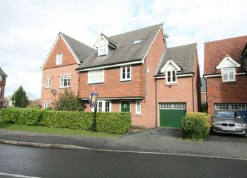 Thumbnail 5 bedroom detached house to rent in Chaise Meadow, Lymm