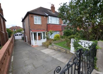 Thumbnail 3 bed semi-detached house for sale in Church Lane, Crossgates, Leeds, West Yorkshire