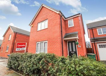 Thumbnail 3 bedroom detached house for sale in Arena Avenue, Coventry