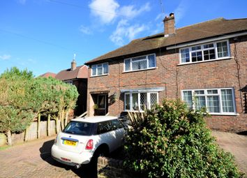 Thumbnail 3 bed semi-detached house to rent in Binscombe Lane, Farncombe, Godalming