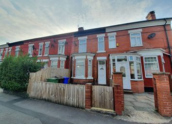 Thumbnail 3 bed terraced house to rent in Slade Lane, Manchester