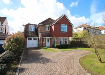 Thumbnail 4 bed detached house to rent in Foley Road, Claygate, Esher