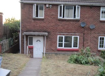 Thumbnail 3 bed semi-detached house to rent in City Road, Tividale