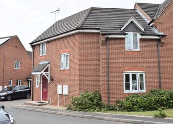 Thumbnail 3 bed semi-detached house for sale in Barrys Close, Woodville, Swadlincote