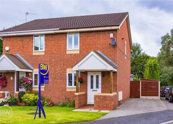 Thumbnail 2 bed semi-detached house for sale in Caleb Close, Tyldesley, Manchester
