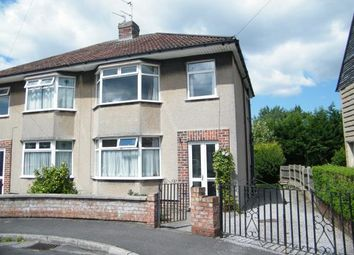 Thumbnail 3 bed semi-detached house for sale in Sherston Close, Fishponds, Bristol