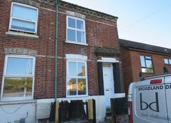 Thumbnail 2 bedroom end terrace house for sale in Sprowston Road, Norwich