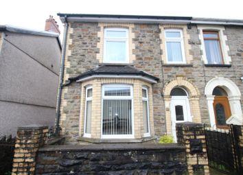 Thumbnail 3 bed semi-detached house for sale in Bernard Street, Cwmcarn, Newport