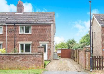Thumbnail 3 bed semi-detached house for sale in Station Road, Great Massingham, King's Lynn