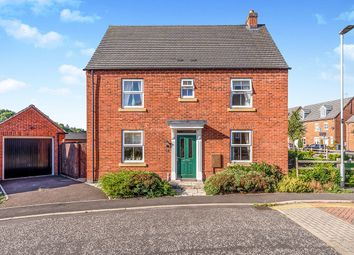 Thumbnail 3 bed detached house for sale in Headstock Close, Coalville