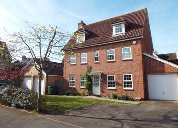 Thumbnail 5 bed detached house for sale in Metcalfe Avenue, Stubbington, Fareham, Hampshire