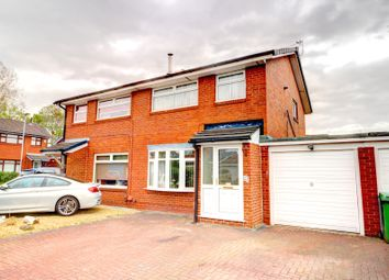 Thumbnail 3 bed semi-detached house for sale in Gloucester Close, Woolston, Warrington