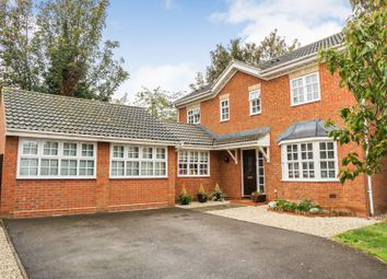 Thumbnail 4 bed detached house for sale in Jasmine Close, Biggleswade