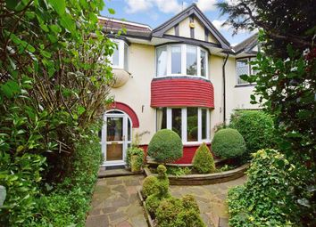 Thumbnail 4 bed semi-detached house for sale in Inverclyde Gardens, Romford, Essex