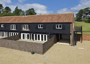 Thumbnail 3 bedroom barn conversion for sale in Chillesford Lodge Estate, Woodbridge