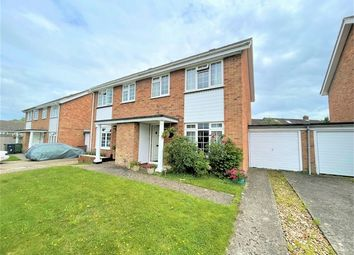 Thumbnail 3 bed semi-detached house for sale in Hilltop Close, Guildford, Surrey