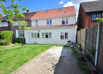 Thumbnail 6 bed semi-detached house to rent in Straight Road, Romford