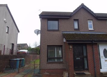 Thumbnail 1 bedroom semi-detached house for sale in Springholm Drive, The Rushes, Airdrie