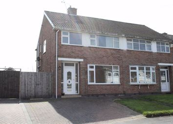 Thumbnail 3 bed semi-detached house for sale in Fieldcourt Road, Groby, Leicester