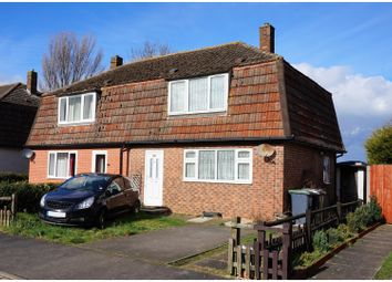 Thumbnail 3 bed semi-detached house for sale in Cornwall Way, Sleaford