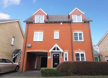Thumbnail 3 bed detached house for sale in Damselfly Road, Ipswich