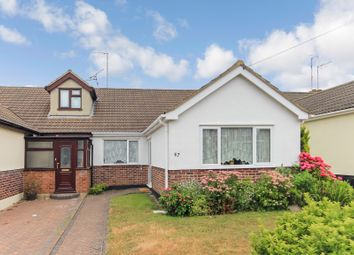Thumbnail 3 bed semi-detached bungalow for sale in Grovewood Avenue, Eastwood, Essex