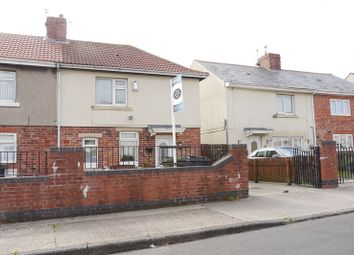 Thumbnail 3 bed semi-detached house for sale in Queens Road, Bedlington