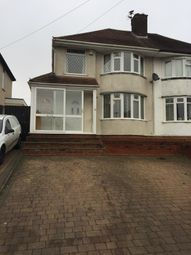 Thumbnail 4 bedroom semi-detached house to rent in Scott Road, Great Barr