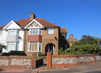 Thumbnail 4 bed semi-detached house to rent in Harding Avenue, Eastbourne
