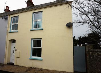 Thumbnail 3 bed end terrace house for sale in Harries Street, Tenby