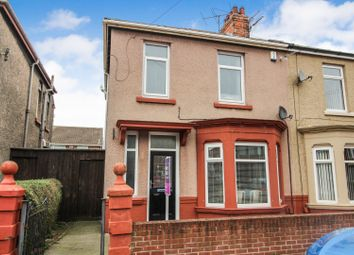 Thumbnail 3 bed semi-detached house for sale in Percy Street, Hartlepool