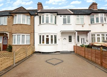 Thumbnail 3 bed terraced house for sale in Carmelite Road, Harrow, Middlesex