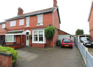 Thumbnail 3 bed semi-detached house for sale in Aston Road, Wem, Shrewsbury