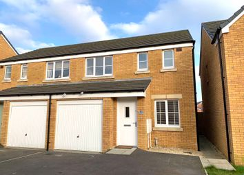 Thumbnail 3 bedroom semi-detached house for sale in Clos Y Coed Castan, Coity, Bridgend