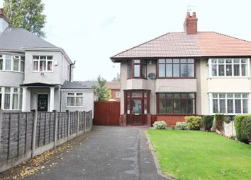 Thumbnail 3 bedroom semi-detached house for sale in West Oakhill Park, Old Swan, Liverpool