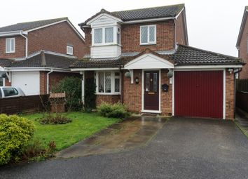 Thumbnail 3 bed detached house for sale in Bert Allen Drive, Boston, Lincolnshire