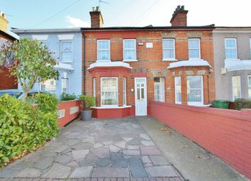 Thumbnail 3 bed terraced house to rent in Victoria Road, Gidea Park, Romford