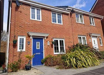 Thumbnail 3 bed semi-detached house for sale in Ffordd Maendy, Sarn, Bridgend