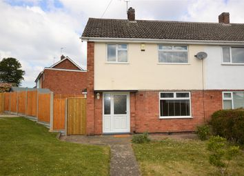 Thumbnail 3 bed semi-detached house to rent in Westerby Close, Wigston