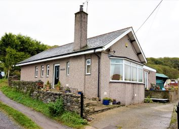 Thumbnail 5 bed detached bungalow for sale in Bryncir, Garndolbenmaen