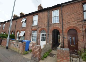 Thumbnail 2 bedroom terraced house for sale in Angel Road, Norwich