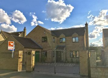 Thumbnail 4 bed detached house for sale in Swinstead Road, Corby Glen, Grantham