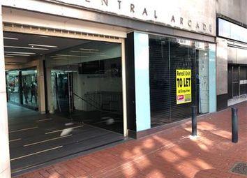 Thumbnail Retail premises to let in Unit 6, Central Arcade, Leeds, West Yorkshire