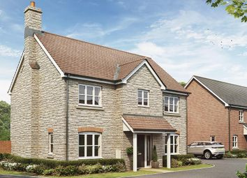 Thumbnail 4 bed detached house for sale in The Orchard, Welford Road, Long Marston