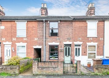 Thumbnail 2 bed terraced house for sale in Alston Road, Ipswich, Suffolk